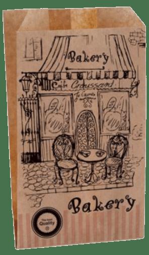 Χάρτινο Σακουλάκι Kraft – Bakery
