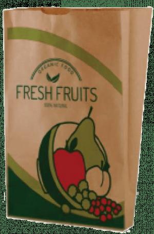 Χάρτινό Σακουλάκι Kraft – Μαναβικής