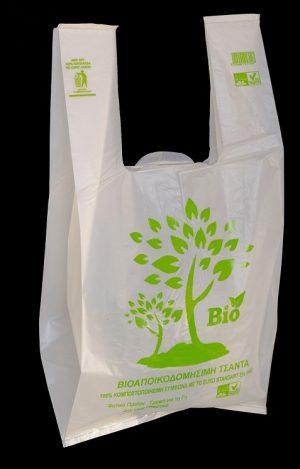 Τσάντα Βιοαποικοδομήσιμη