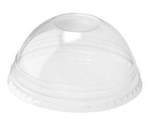 Καπάκι Για Ποτήρι Πλαστικό pet Μπομπέ 100τεμ