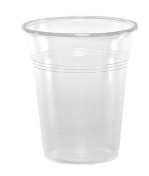 Ποτήρο Πλαστικό pp Διάφανο 300ml 50τεμ