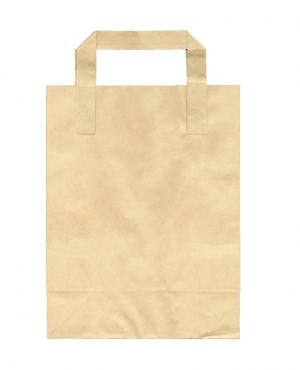 Χάρτινη Τσάντα, χρώμα KRAFT, 18x9x23.5cm