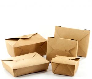 Κουτιά φαγητού Kraft Bio Box