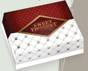 Κουτί ζαχαροπλαστείου Sweet Dessert